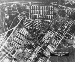 Concentration Camps Auschwitz in Poland, April 4, 1944. (Associated Press)