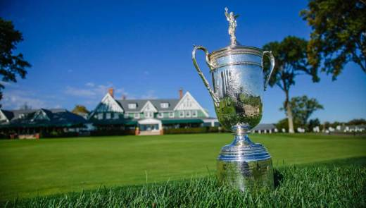 The U.S. Open Trophy.