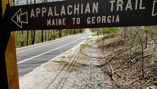 Ten miles south of Boiling Springs, in Cumberland County, the AT crosses state Route 94 and begins climbing the northern end of the Appalachian's Blue ridge, which the AT has been following since Georgia. (Don Hopey/Pittsburgh Post-Gazette)