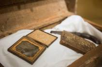 Artifacts at the Fort Necessity National Battlefield in Farmington on June 22, 2016. (Haley Nelson/Post-Gazette)