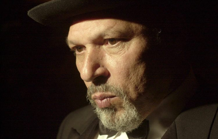 August Wilson in April of 2001. The celebrated American playwright was born April 27, 1945. (Bill Wade/Post-Gazette)