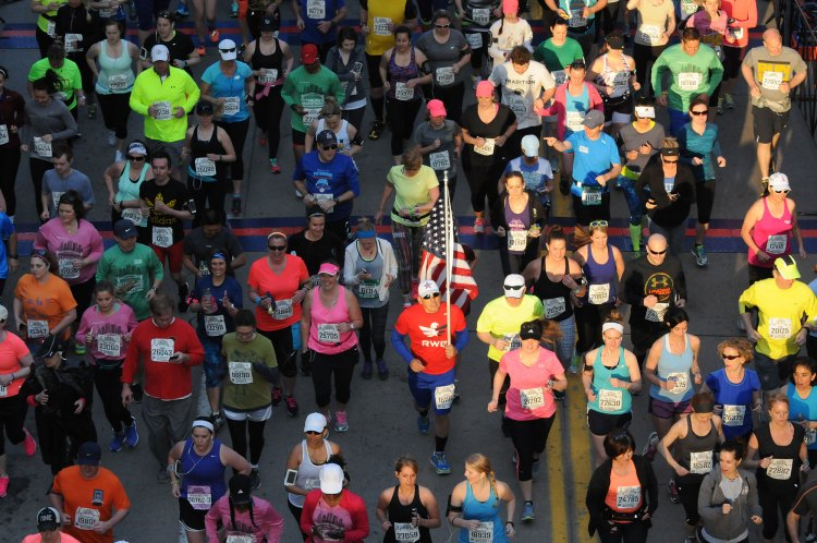 The Pittsburgh Marathon is one of 20  largest marathons and half marathon events in the United States.  (Bob Donaldson/Post-Gazette)