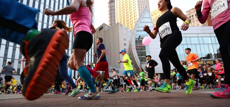 The marathon has sold out each year since its return in 2009. (Andrew Rush/Post-Gazette)