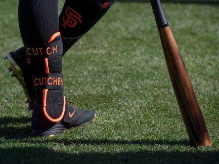 Andrew McCutchen waits for his turn at bat. (Steph Chambers/Post-Gazette)