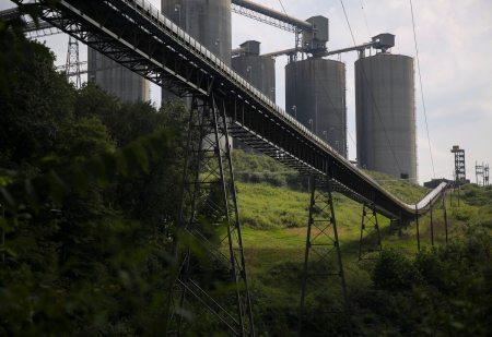 The Bailey Mine remains active in Greene County. (Jessie Wardarski/Post-Gazette)