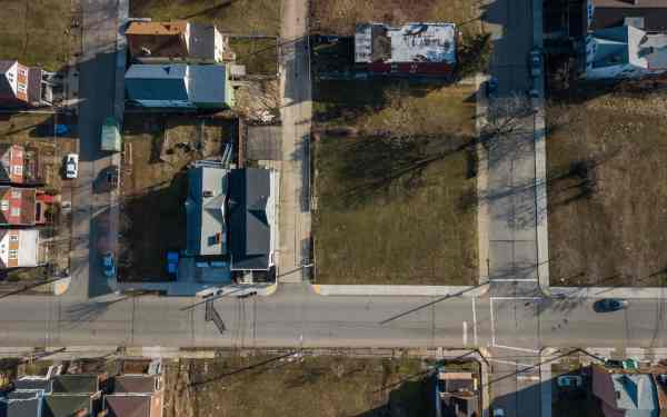 This vaThis vacant lot in Larimer is all the land bank has to show after seven years and spending at least $343,000. (Andrew Rush/Post-Gazette)cant lot in Larimer is all the land bank has to show after seven years and spending at least $343,000. (Andrew Rush/Post-Gazette)