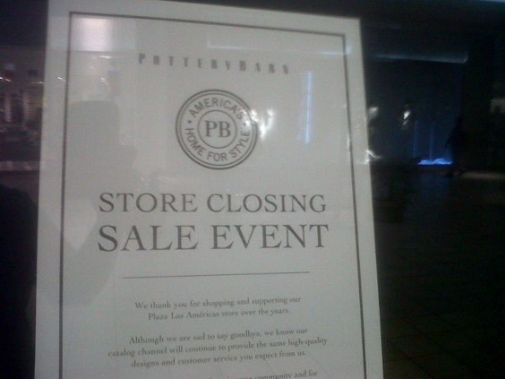 Pottery Barn Closing In Plaza Las Am 233 Ricas News Is My