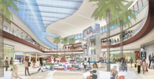 Grand Court of The Mall of San Juan, opening in late 2014 in San Juan.  (PRNewsFoto/Taubman Centers, Inc.)
