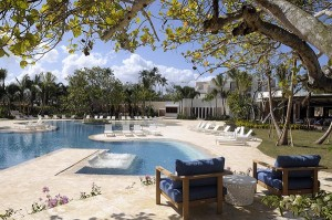 The sprawling Dorado Beach is enclaved on 1,400 acres of pristine beachfront property.