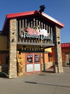 The first 6,000 square-foot Famous Dave's eatery will open in Carolina in April.