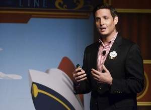 Jonathan Frontado, public relations manager at Disney Cruise Line.