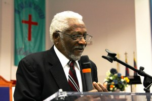 Raymond Joseph, Haiti's former ambassador to the United States. (Credit: Larry Luxner)