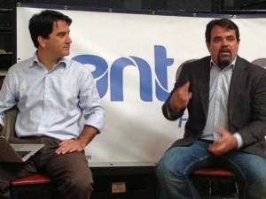 From left: AntRocket Founders Javier Torres and Guilfre Tort