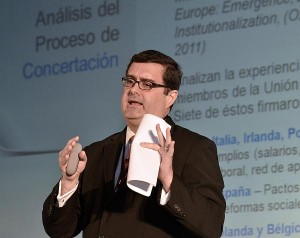 Sergio Marxuach, the CNE's public policy director (Credit: © Mauricio Pascual)
