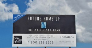 The 650,000-square-foot shopping center will feature the first Nordstrom and Saks Fifth Avenue on the island, in addition to more than 100 specialty stores and restaurants, approximately 60 percent of which will be new to Puerto Rico.