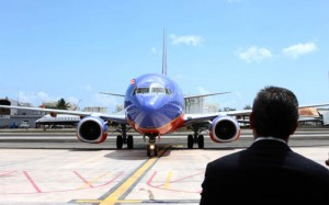 Southwest's began offering flights to Puerto Rico in April. 2013 (Credit: La Fortaleza/Alex Rafael Román)