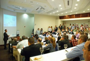 This week's GVA presentation was a standing-room-only event.