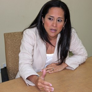 Grace Santana, head of the P3 Authority