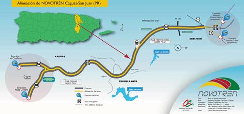 The Novotren route.
