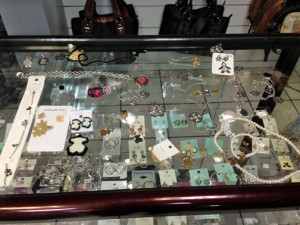 Hundreds of pieces of counterfeit Tous jewelry and handbags have been seized since Saturday.
