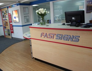 The new FastSign's store in Caguas opened for business Tuesday.