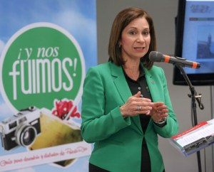 Tourism Co. Executive Director Ingrid Rivera-Rocafort