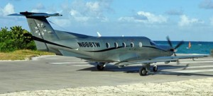 Tradewind Aviation connects Puerto Rico with Nevis and Anguilla with a Pilatus PC-12 aircraft. (Credit: www.tradewindaviation.com)