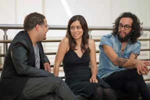 From left: Winners Julio Amill-Martínez, Tari Beroszi and Omar Velázquez.