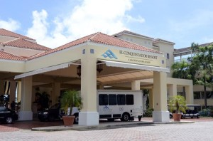 El Conquistador Resort will be the site of today's meeting and announced protest. (Credit: © Mauricio Pascual)
