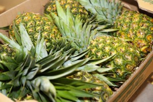 Walmart, Amigo and Sam's Club will buy more than 180,000 pounds of pineapple between August and December of this year, to supply the demand at most of its local stores.