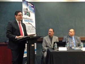 From left: Antonio Medina, Iván Lugo and Juan Pablo Gutiérrez.
