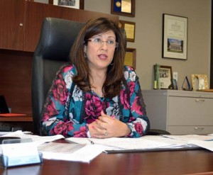 Author Yvette T. Collazo, district director for the SBA in Puerto Rico.