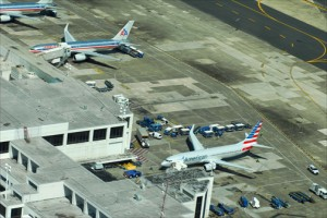 The LMM airport handles 8.5 million passengers a year. (Credit: Larry Luxner)