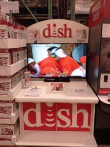 Customers approved at Costco for the DISH service will receive a $100 store gift card.