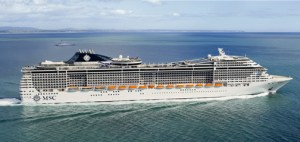 MSC Divina features 1,751 staterooms, 322,900 square feet of public space and a slew of amenities.