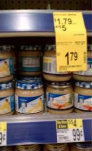 J.M. Smucker presented photo evidence of Nestle's alleged trademark infringement.