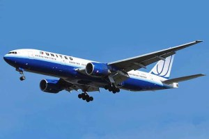 United Airlines was the first commercial carrier to fly the Boeing 777, the predecessor of the 777x. (Credit: Wikipedia)
