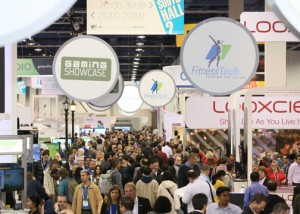This year's CES event was the largest in its history, organizers said.