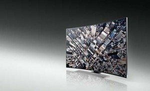 Samsung's curved TV unveiled at the CES.