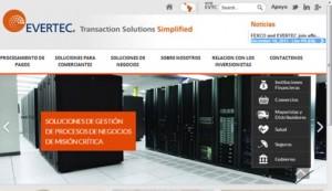 Evertec website