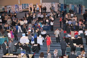 The Opportunities Fair, companies have the opportunity to network.