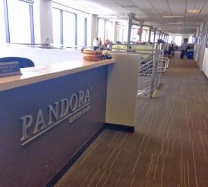 Pandora Internet Radio is based in Oakland, CA.