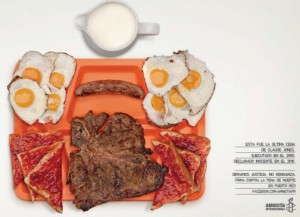 "DDB Latina Puerto Rico has received multiple awards for the ""The Last Meal"" campaign."