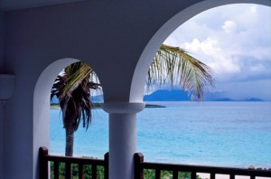 Cap Juluca, an upscale luxury resort on the Caribbean island of Anguilla. (Credit: Larry Luxner)