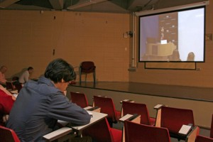 UHS and the Affiliated Senior High School of Chung-Hsing University in Taiwan were selected to participate as delegates via telepresence using Internet2.