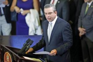 Gov. García-Padilla offers his budget speech at the Legislature Tuesday.