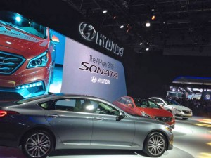 The Sonata will be available later this year in three models: the SE, Limited and Sport.