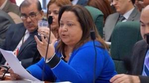 Treasury Secretary Melba Acosta (Credit: Puerto Rico Senate)