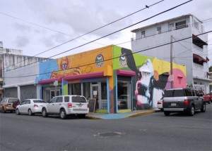 Cocobana, located on the corner of Loíza Street and Cecilia Street, is committed to healthy food. (Credit: Lorraine Blasor)