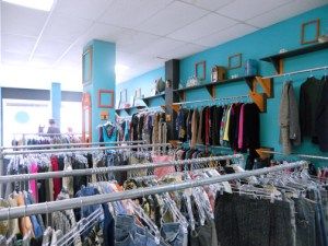 Entering a vintage store like Electroshock is to take a trip in time. (Credit: Lorraine Blasor)
